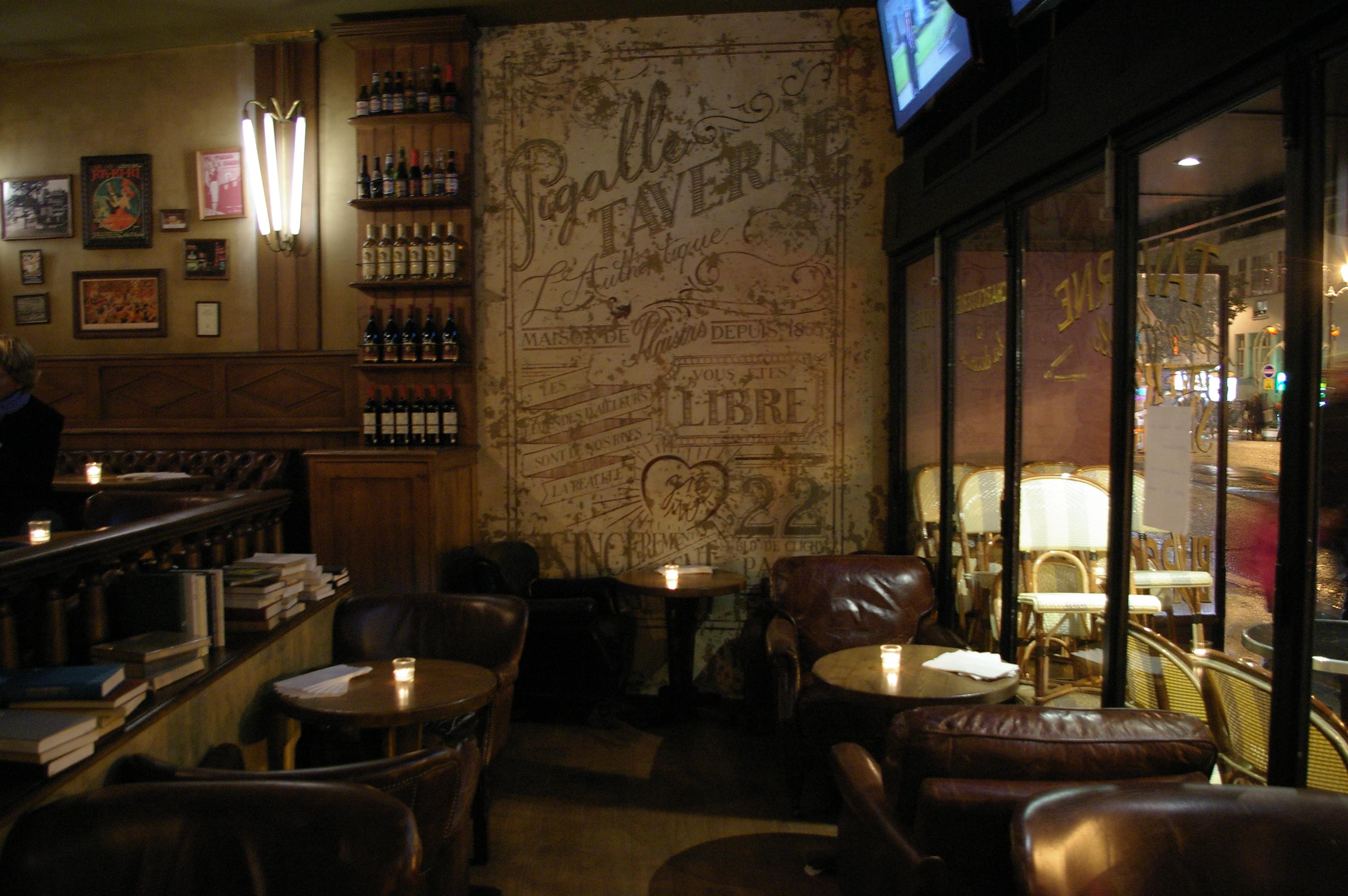 le pigalle nouveau bar restaurant branch paris. Black Bedroom Furniture Sets. Home Design Ideas