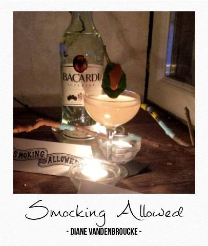 Smoking Allowed by Diane Vandenbroucke // © Page Facebook Bacardi Martini