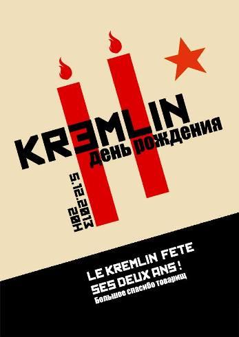 Le bar du Kremlin, à Paris, fête ses 2 ans