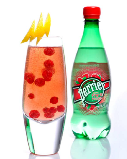 Perrier Red Delight // © Loran Dhérines/Liquid Chef Paris