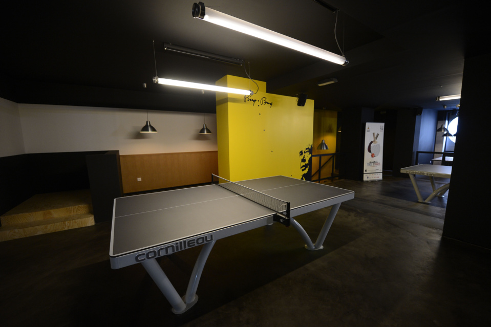 Gossima : Ping Pong Bar à Paris // DR