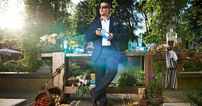 L'italien Matteo Vanzi : Bartender le plus imaginatif du monde en 2013 // © Bombay Sapphire
