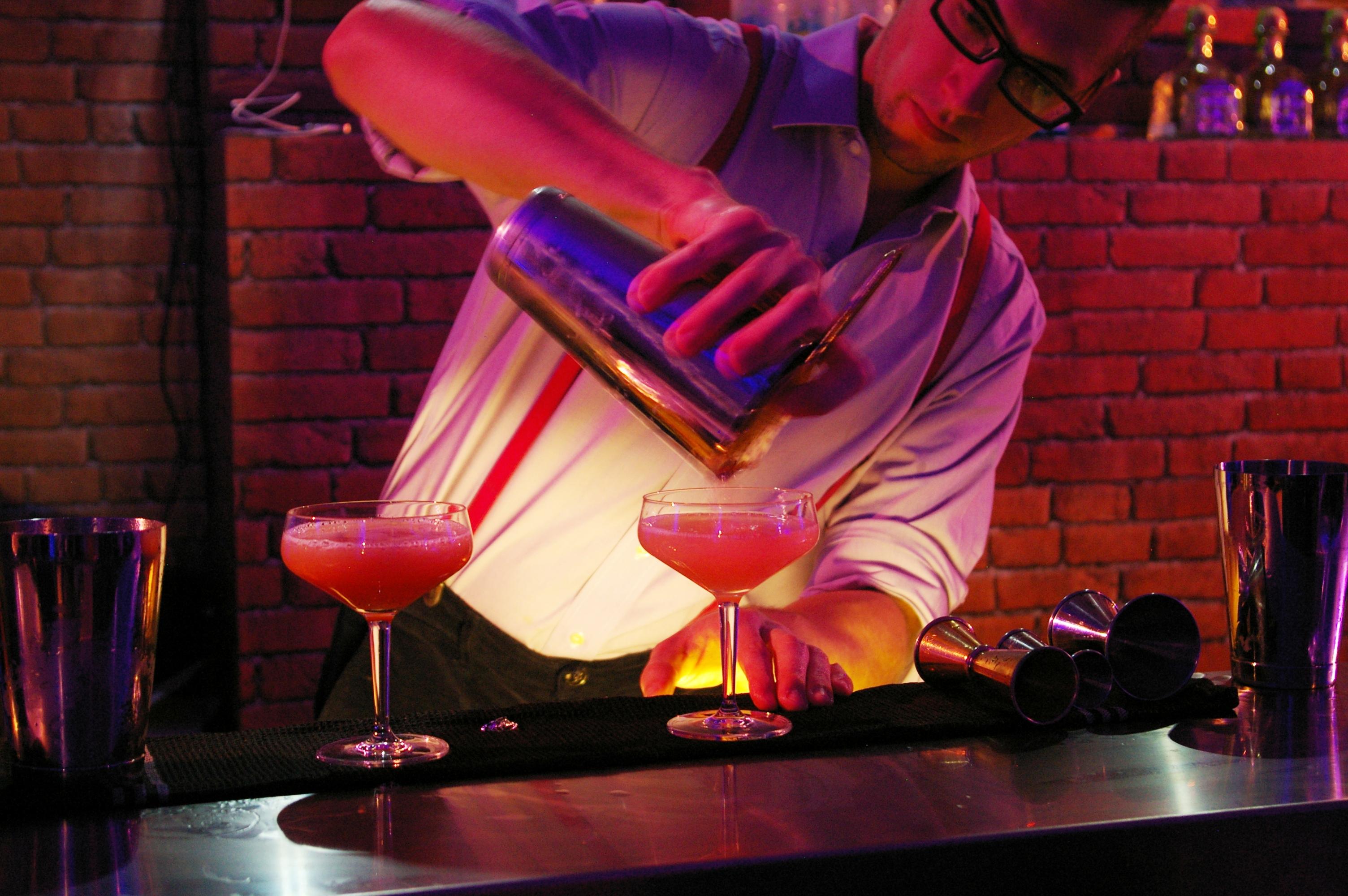 Cocktails au PDT éphémère // © Caroline Jolivet