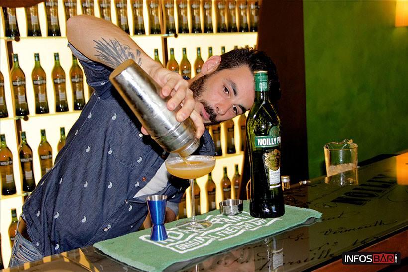 Romain Krot pour Noilly Prat® // © Infosbar.com