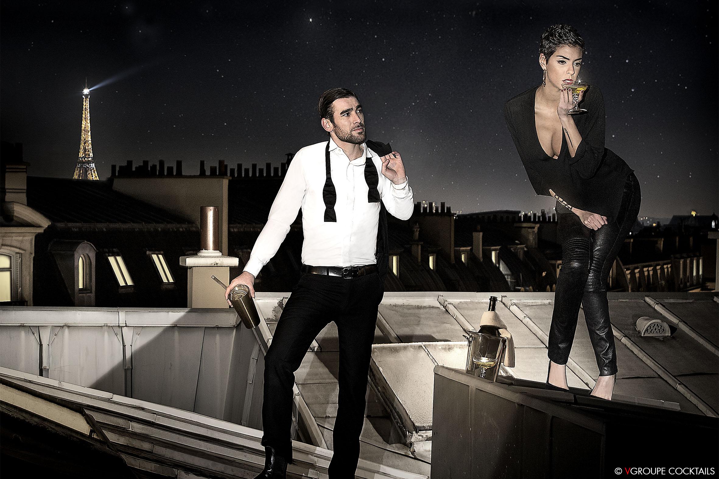 Romain Duverneix © Calendrier VGROUPE Cocktails 2014