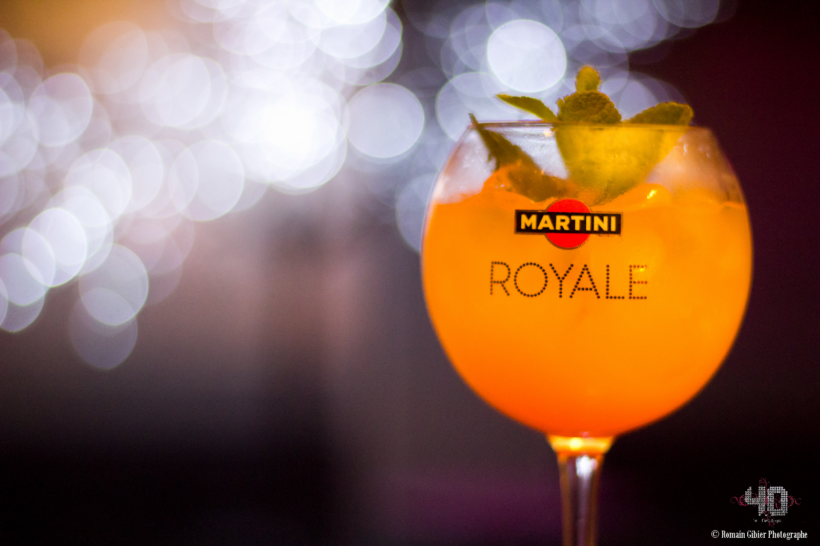 "Cocktail ""Martini Royale Exotique"" by Antony Bertin"