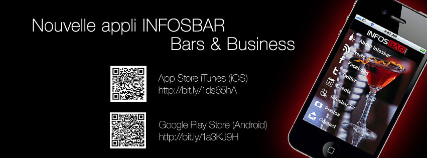 Nouvelle appli Infosbar - Bar and Business 2014