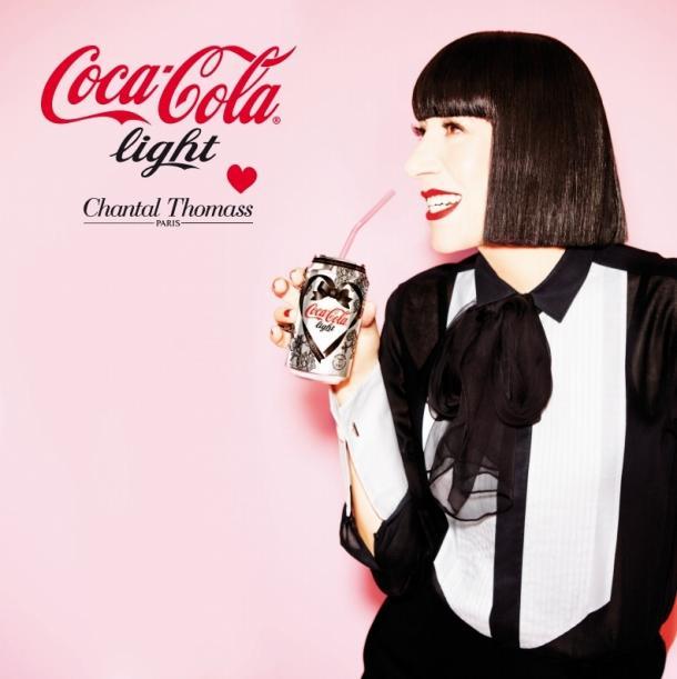 Chantal Thomass pour Coca-Cola Light
