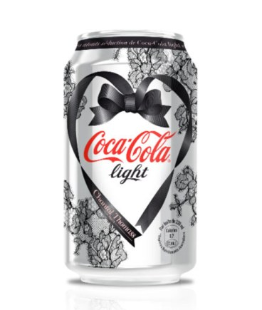 Canette Coca-Cola Light by Chantal Thomass