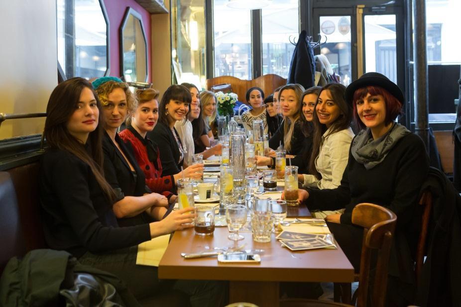 Déjeuner des Femmes du Bar au Café Moderne // DR