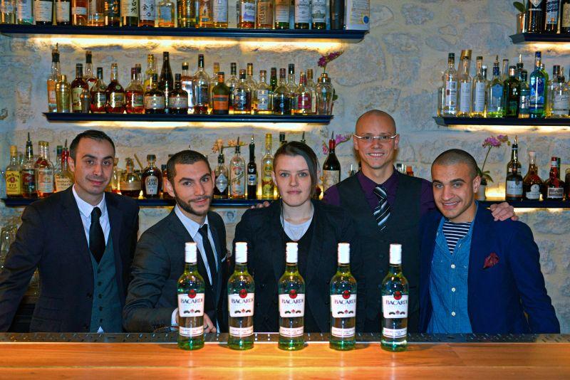 Les 5 finalistes de la Bacardi Legacy France 2014