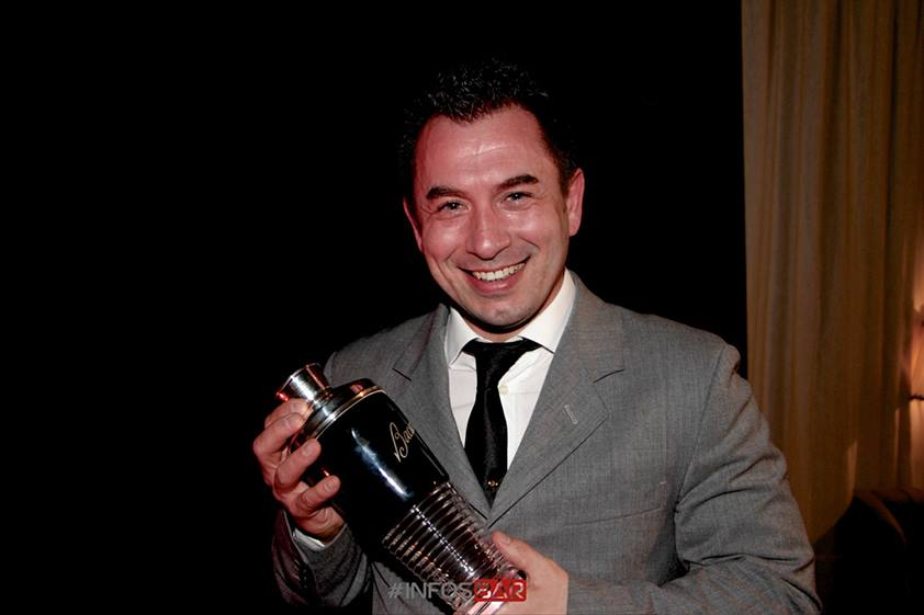 Walter Gosso : lauréat de la finale Italie de la Bacardi Legacy 2014