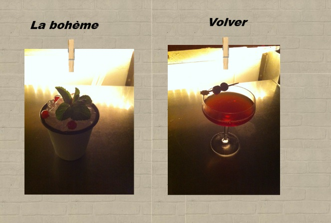 Cocktails par Carlos MADRIZ
