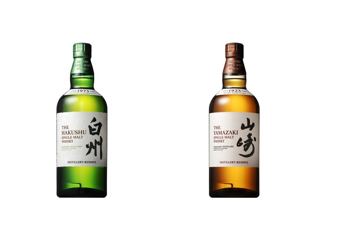 Hakushu Distiller's Reserve et Yamazaki Distiller's Reserve by Suntory // DR