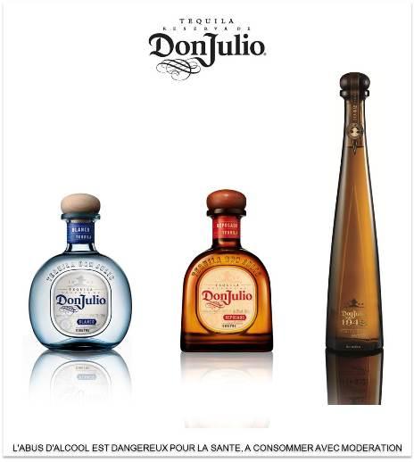 Lancement de la tequila haut de gamme Don Julio