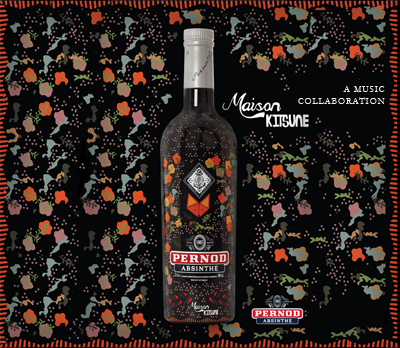 Pernod Absinthe X Maison Kitsuné // DR