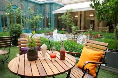 La Terrasse d'été du Westin Paris-Vendôme par Alain Milliat // DR