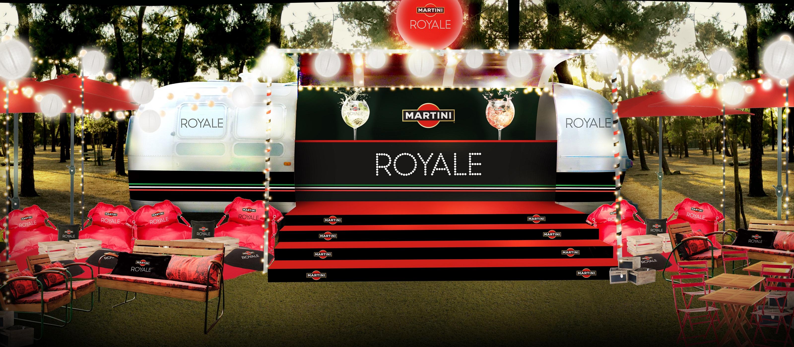 Martini Royale en tournée