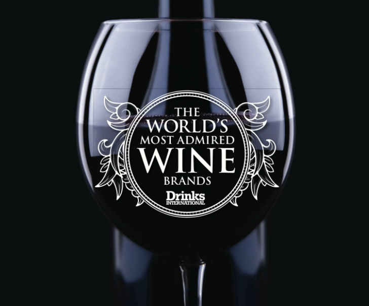 The World's Most Admired Wine Brands // © Drinks International