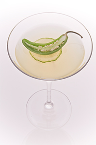 Cocktail Jalapeno Martini