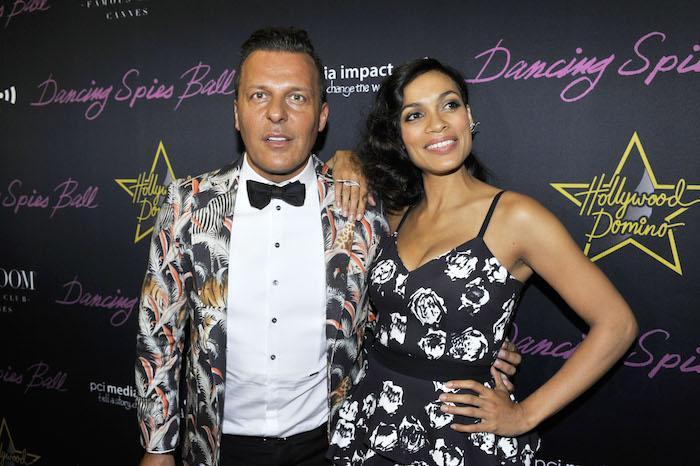 Jean-Roch et Rosario Dawson