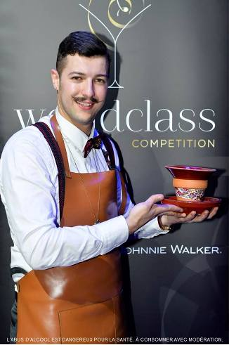 AHMED YAHI « MIDO » élu meilleur bartender World Class France 2014