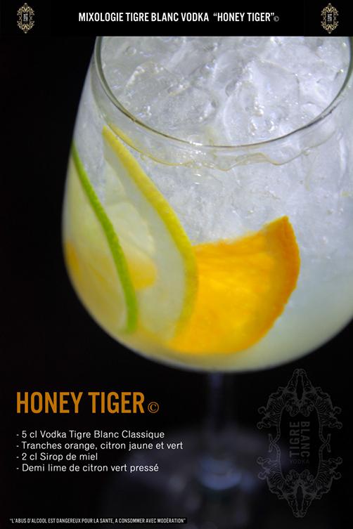 Cocktail Honey Tiger ©