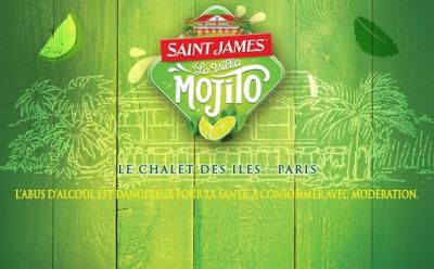 La Villa Mojito Saint James // DR
