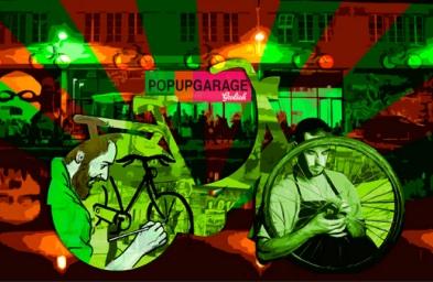 Pop Up Garage // DR