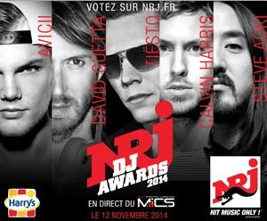 NRJ DJ AWARDS 2014 // DR