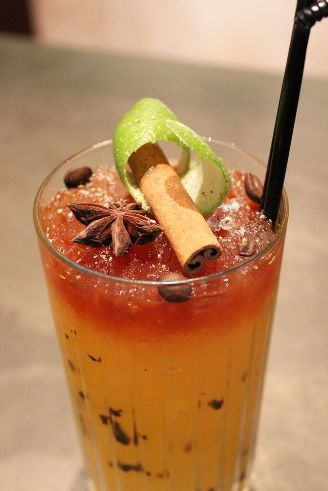 "Cocktail ""Tijuana Swizzle"" // © Park Hyatt Paris-Vendôme"