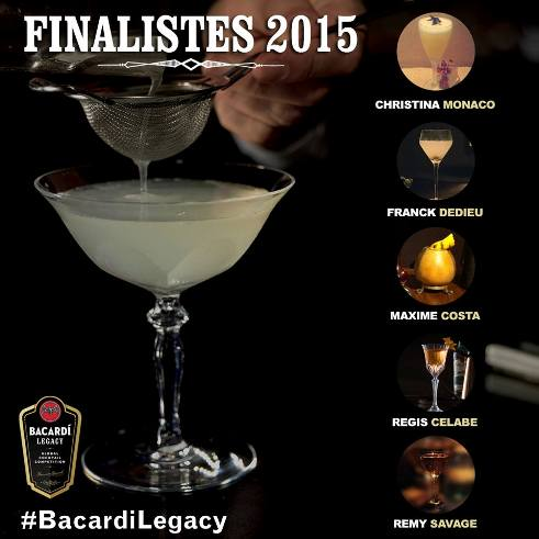 © Bacardi Legacy Cocktail Competition 2015