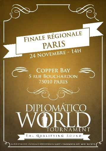Diplomatico World Tournament 2015 : les lauréats de la Finale Régionale Paris