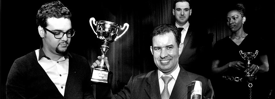 Mustapha Doudouz du Sofitel Marrakech : Meilleur Barman du Maroc 2014 // DR