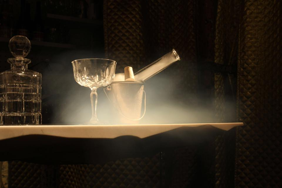 "Cocktail ""Smoking Car"" // © Le Syndicat"
