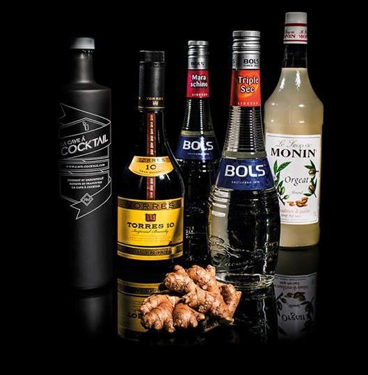 La cave cocktail d voile 4 nouvelles cr ations for Cocktail russe blanc