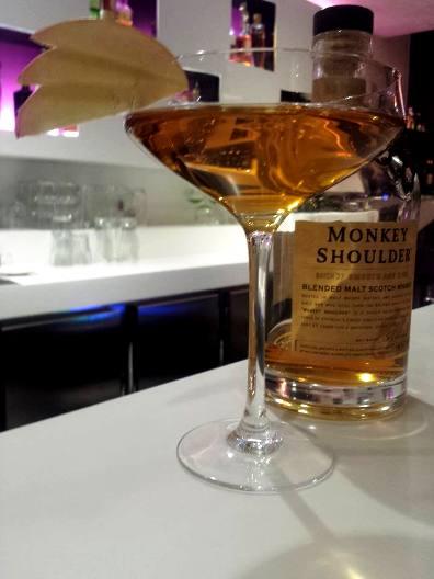 """Cocktail """"Golden Monkey"""" // © Page Facebook Le Quarante Trois Cocktail Bar"""