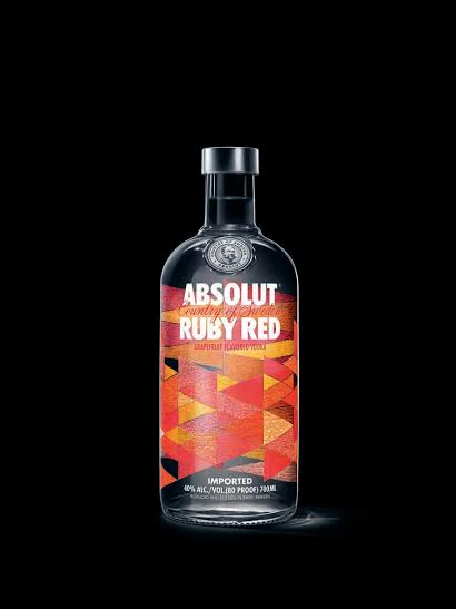 Absolut Ruby Red // DR