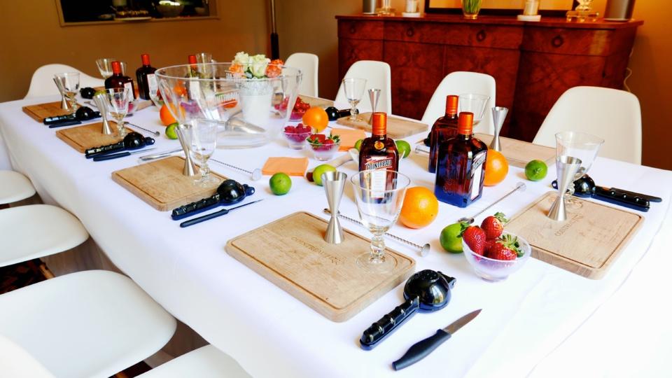 La table d'hôtes de l'Appartement Cointreau Privé