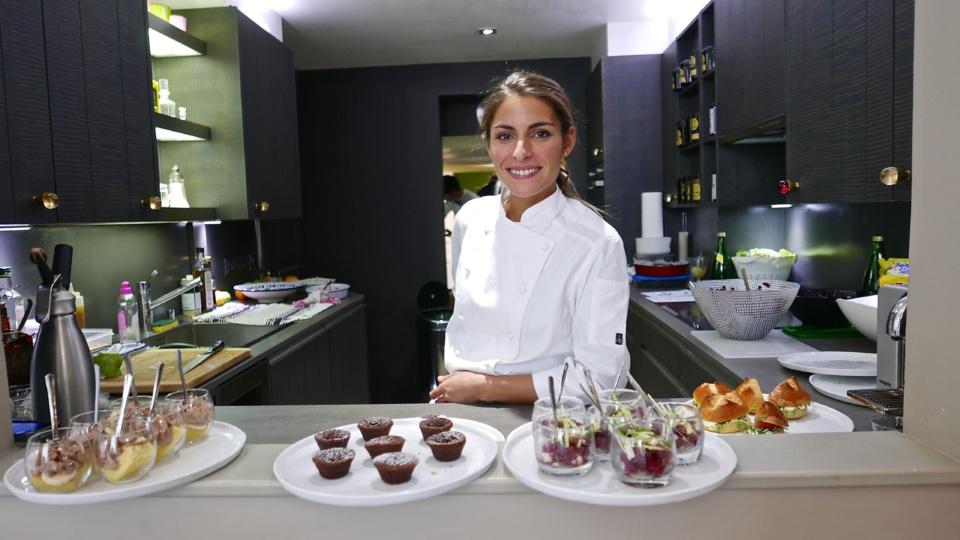 Jennifer Taieb (Top Chef) cuisinera pour les invités de l'Appartement Cointreau Privé