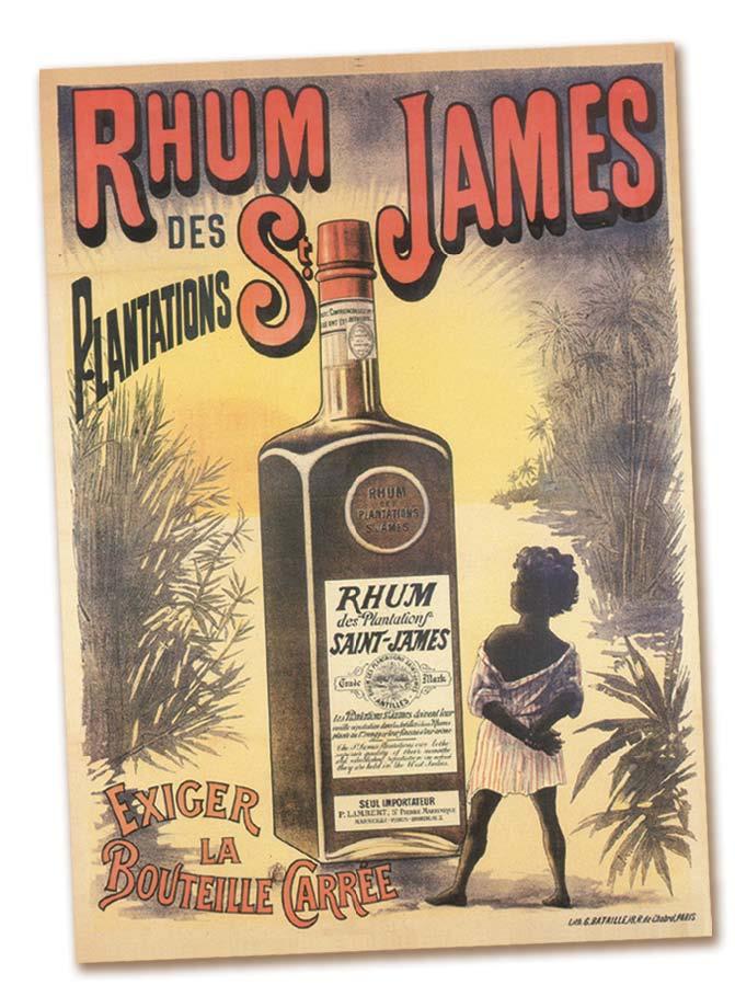 Encarts publicitaires SAINT JAMES (fin XIXe et début XXe siècle).