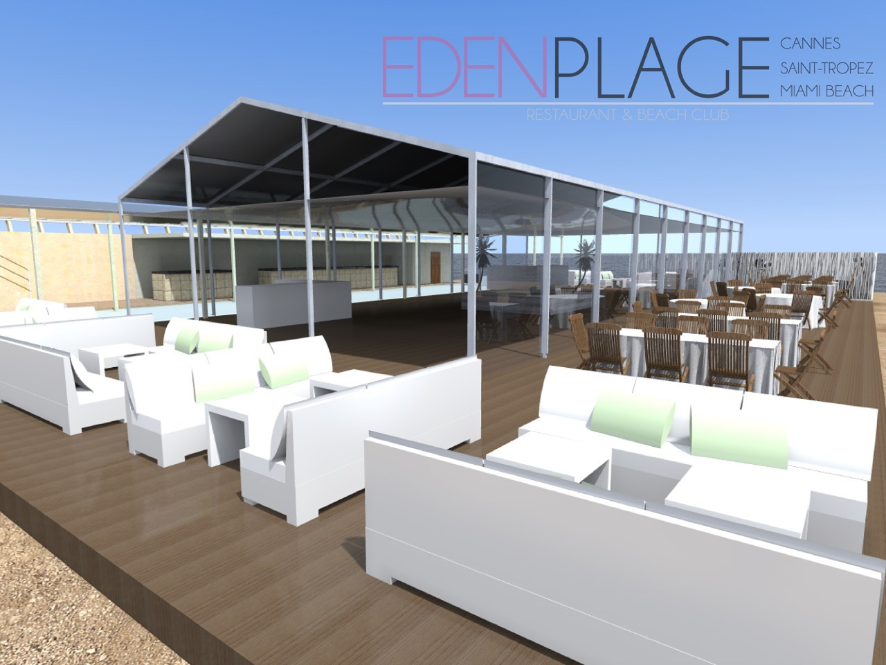 Infosbar Festival Cannes 2015 : Eden Plage