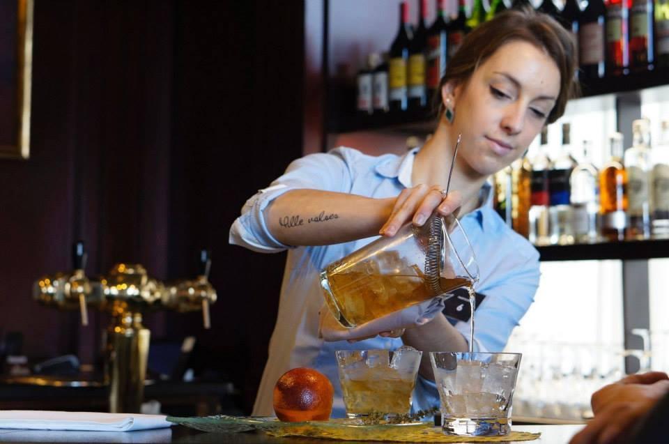 Sarah Perochon, lauréate des Trophées du Bar 2015 // DR