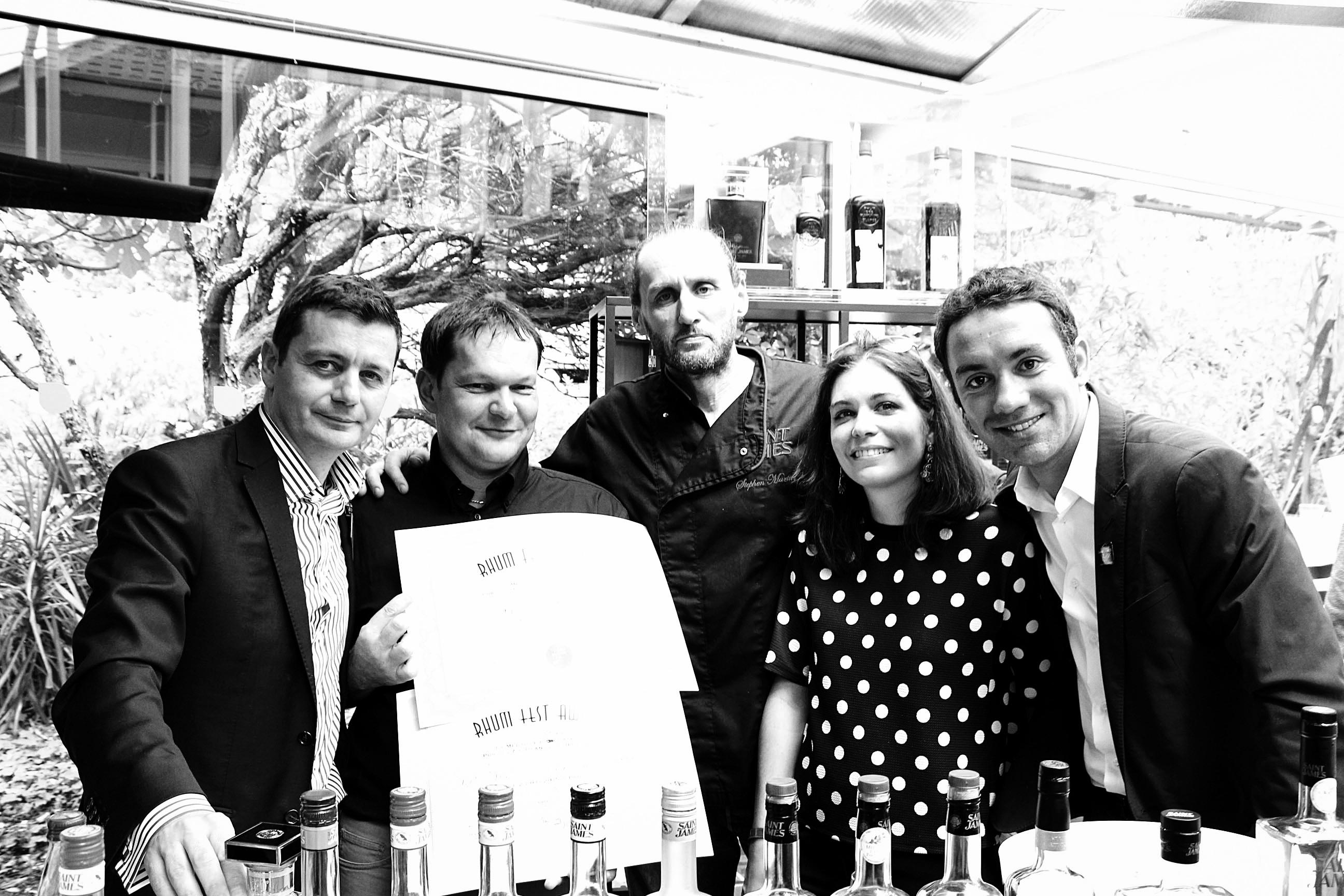 Jean-Louis Denis, Marc Sassier, Stephen Martin, Melinda Guerrin White...