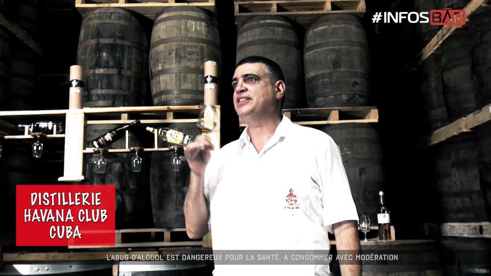 INÉDIT : Distillerie Havana Club - Cuba