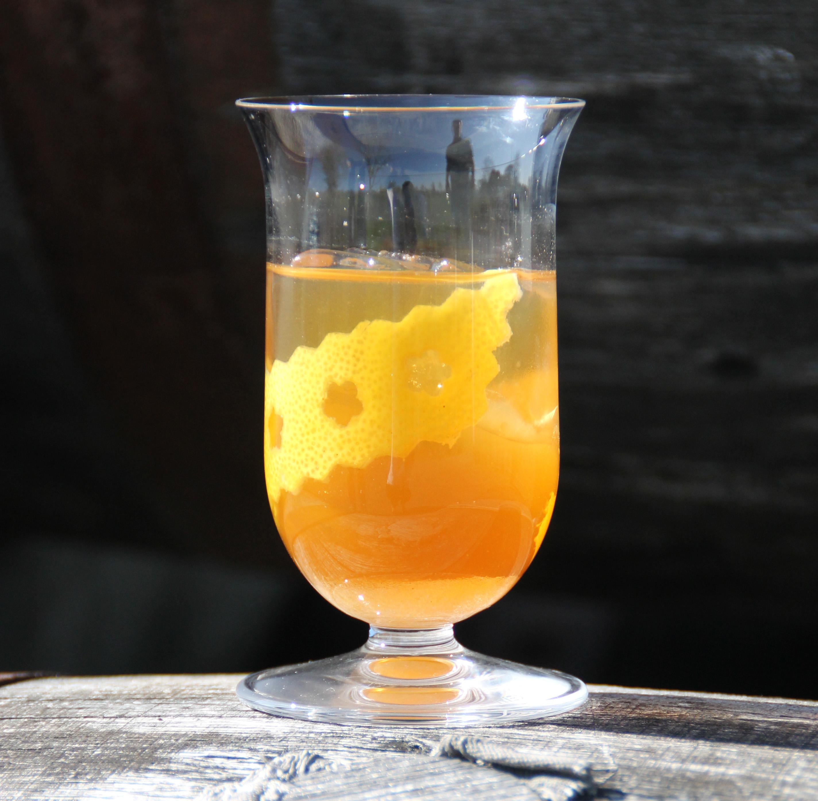 Cocktail Soft Toddy à la Guillaume Ferroni