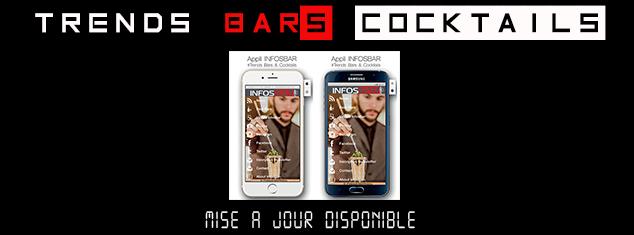Mise à jour de l'appli Infosbar - Trends Bars & Cocktails