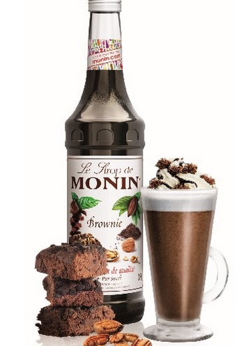 Chocolat Chaud Brownie by MONIN // DR