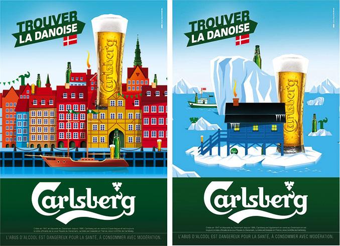 Trouver la Danoise version Copenhague et Groenland