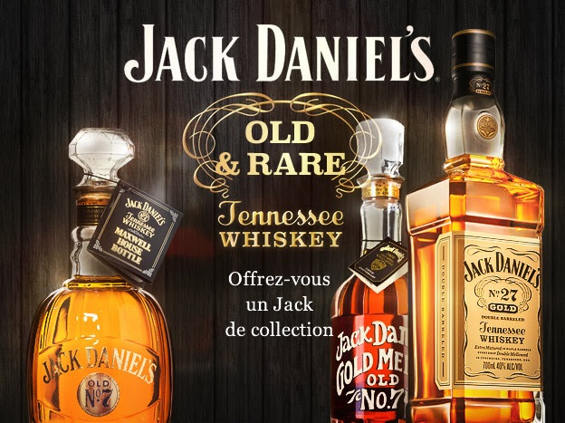 Whisky Live Paris 2015 : Jack Daniel's et ses répliques historiques